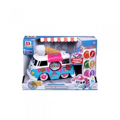 """Bburago Junior 16 88610 Микроавтобус Фольксваген """"Весёлый фургон мороженщика"""" (свет, звук)"""