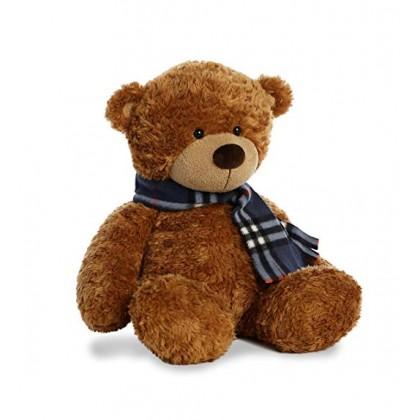 Аврора 09977 Медвежонок с шарфиком, 25 см