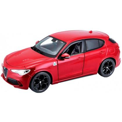 Bburago 18-21086 Модель автомобиля 1:24 Альфа Ромео Стельвио