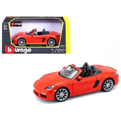 Bburago 18-21087 Модель автомобиля 1:24 Порше 718 Бокстер
