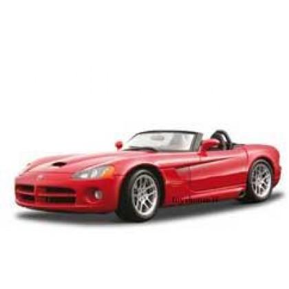 BBurago 18-25022 Сборка 1:24 Dodge Viper SRT/10 (2003)/Додж Вайпер СРТ/10 (2003)