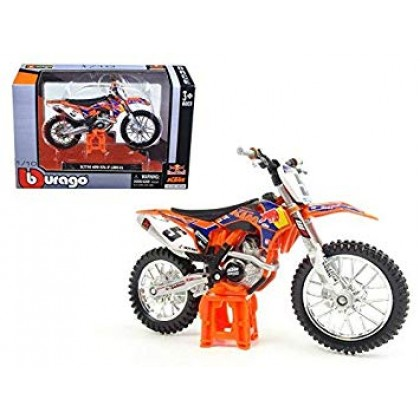 BBurago 18-51072 Модель мотоцикла 1:18 KТМ 450 SX-F Red Bull Ryan Dungey #5