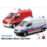 Металлическая модель BBurago 18 32006  Mercedes Benz Sprinter