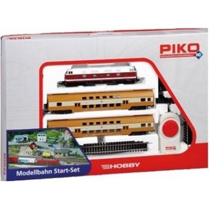 Железная дорога PIKO 57135 Пассажирский поезд с двухэтажными вагонами