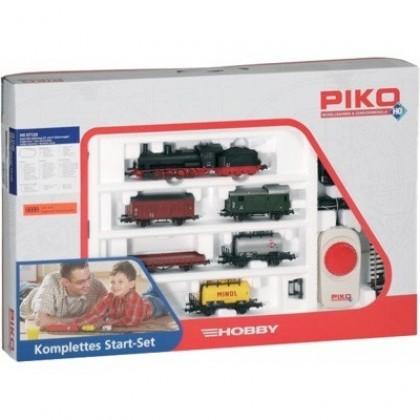 Железные дороги PIKO 57120 Стартовый набор Паровоз с грузовым составом