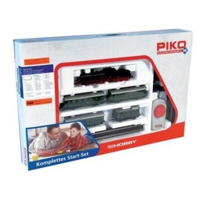 Piko 57121 Железная дорога Паровоз и 4 пассажирских вагона
