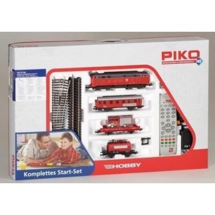 Железные дороги PIKO 57156 Стартовый набор цифровой Пожарный поезд