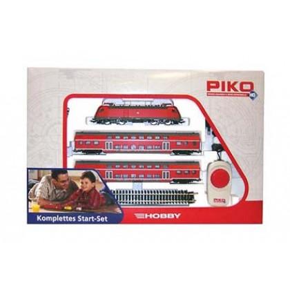 Железные дороги PIKO 57171 Стартовый набор Электровоз с пассажирскими вагонами