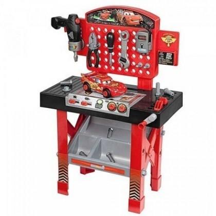 Smoby 500189 Ремонтная мастерская Тачки с машинкой