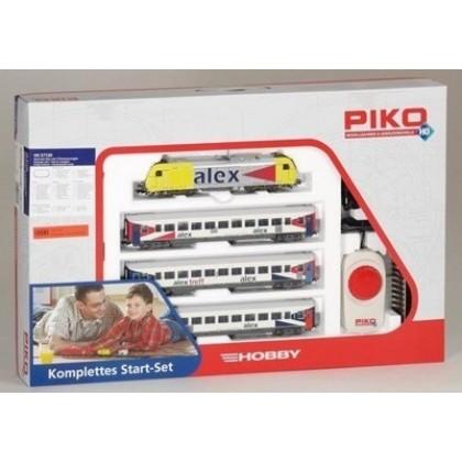 Железные дороги PIKO 57130 Пассажирский поезд ALEX