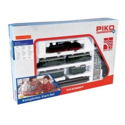 Piko 57125 Железная дорога цифровая Паровоз и 4 вагона