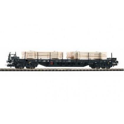 Аксессуары к железной дороге PIKO 54828 Вагон платформа с грузом древесины DR IV
