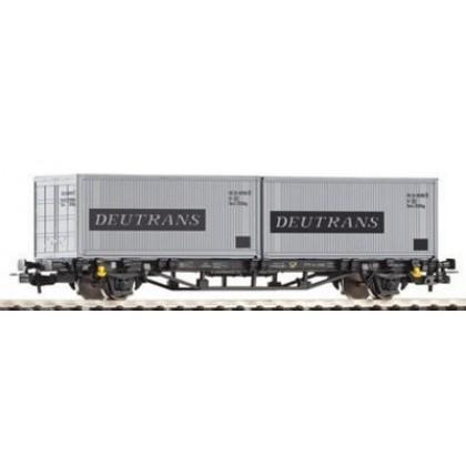 PIKO 57747 Вагон платформа с двумя контейнерами
