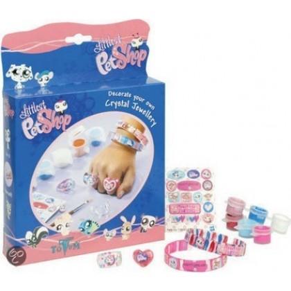 Набор для творчества Totum 110083 Pet Shop Кристальные украшения