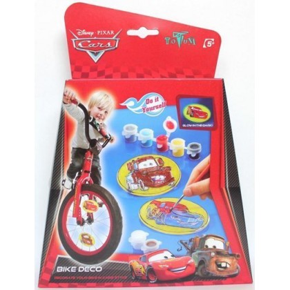 Набор для творчества Totum 149045 Cars Украшения для велосипеда Тачки