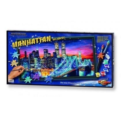 Набор для творчества Schipper 9220369 Ночной Манхеттен