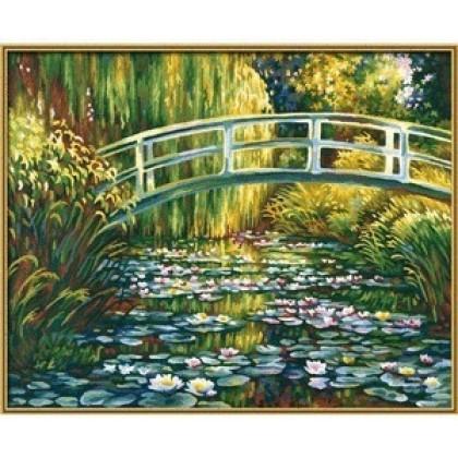 Набор для творчества Schipper 9130620 Пруд с лилиями