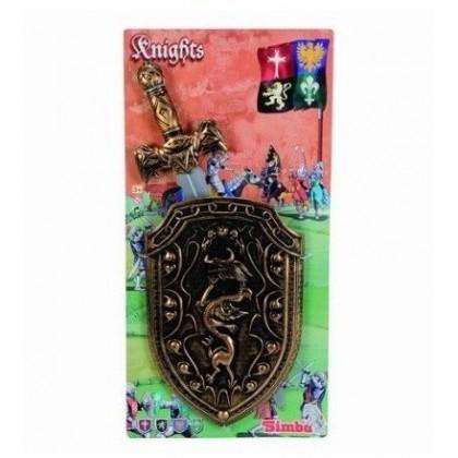 Оружие Simba 8048462 Меч и щит рыцаря
