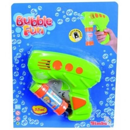 Simba 7288214 Пистолет с мыльными пузырями