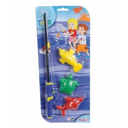 Игра для ванной Simba 7408202 Рыбалка на магнитах