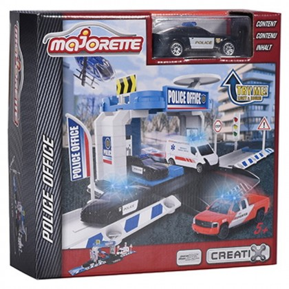 Majorette 2050001 Набор Creatix Police Office