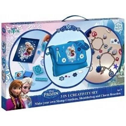 Totum 681019 Frozen Сумка, украшения и штампы Холодное Сердце