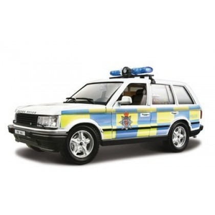 Металлическая модель BBurago 18 22060 Security Team Range Rover Polizia