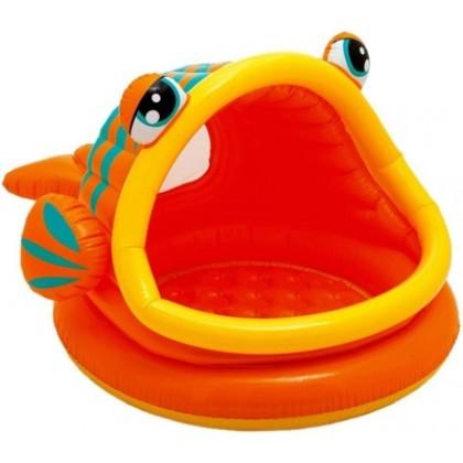Intex 57109 Бассейн надувной Ленивая рыба
