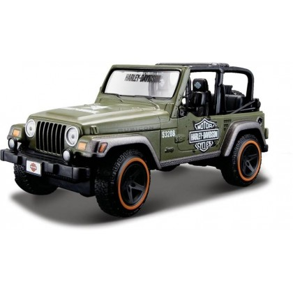 Maisto 32190 HD Jeep Wrangler
