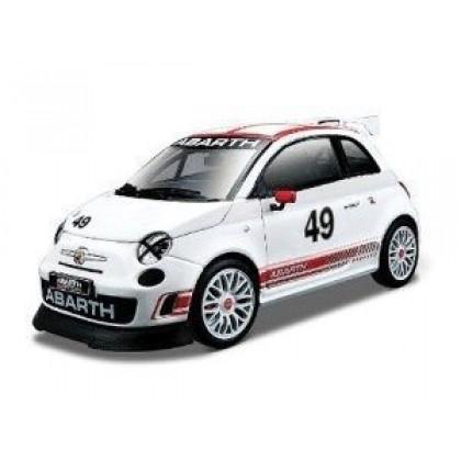 Металлическая модель BBurago 18 28101 Race Fiat Abarth 500
