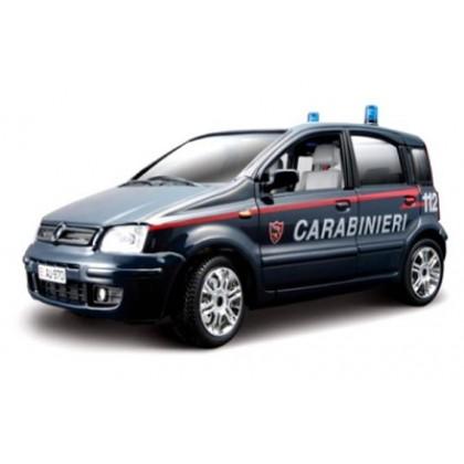 Металлическая модель BBurago 18 22067 Security Team Fiat Panda