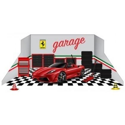 Металлическая модель BBurago 18 31100 Ferrari с аксессуарами