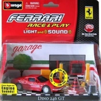 Металлическая модель BBurago 18 31110 Ferrari со звуком