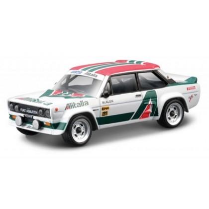 Металлическая модель BBurago 18 30201 Street Fire Fiat 131 Abarth