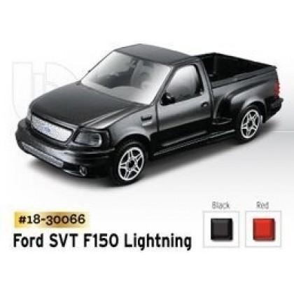 Металлическая модель BBurago 18 30066 Street Fire Ford SVT F150 Lighting