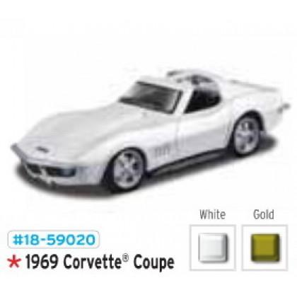 Металлическая модель BBurago 18 59020 Corvette Coupe