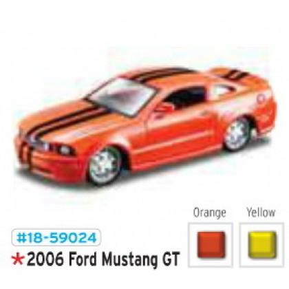 Металлическая модель BBurago 18 59024 Ford Mustang GT