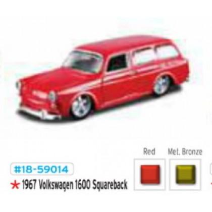 Металлическая модель BBurago 18 59014 Volkswagen 1600 Squareback