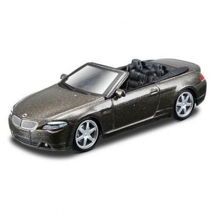 Металлическая модель BBurago 18 59002 BMW 645 Ci Cabrio