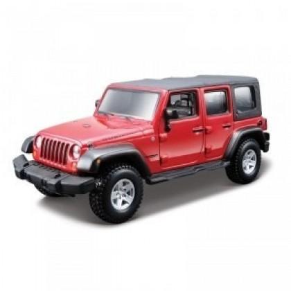 Сборная модель BBurago 18 45121 Jeep Wrangler