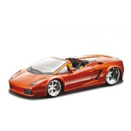 Сборная модель BBurago 18 45004 Lamborghini Gallardo Spyder