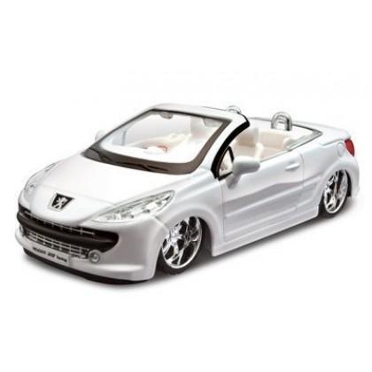 Сборная модель BBurago 18 45010 Peugeot 207 CC