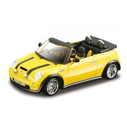 Сборная модель BBurago 18 45012 Mini Cooper S Cabrio