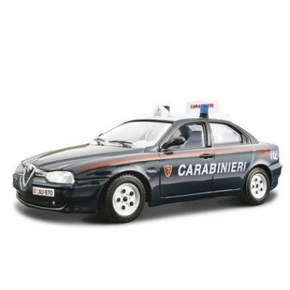 Сборная модель BBurago 18 25048 Alfa Romeo 156 Carabinieri