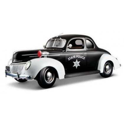 Коллекционная модель Maisto 31366 Ford Deluxe Police