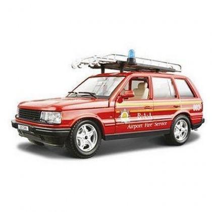Сборная модель BBurago 18 25030 Range Rover Fire