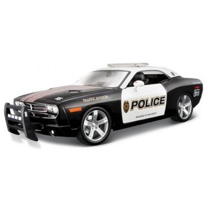 Коллекционная модель Maisto 31365 Dodge Challenger Police