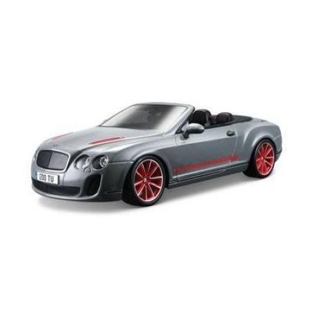 Сборная модель BBurago 18 15057 Bentley Continental Supersports Convertible ISR