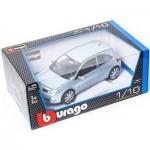 Металлическая модель BBurago 18 12074 Gold Renault Megan