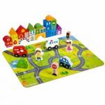 Bondibon bb2382 Деревянные кубики Город